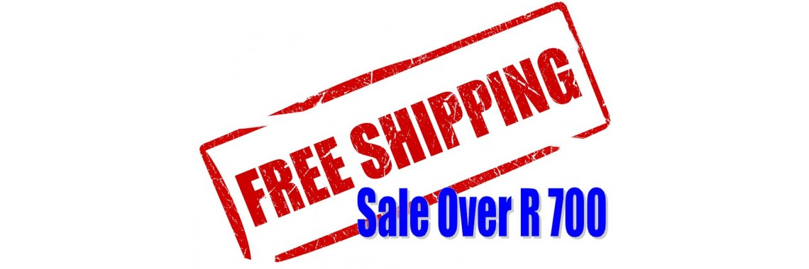 Free Shipping over R 700