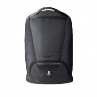 "Backpack Rusa 15.6"" Water Resistant Nylon, Black Colour"