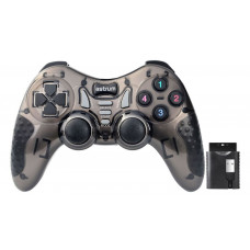Gamepad Wireless Dual Vibration Analog for PC/PS2/PS3/Android TV and Box GW520