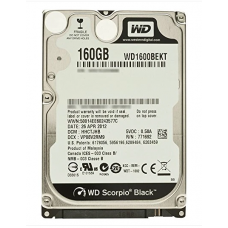 "Hard Disk Internal 160GB 2.5"" - 2nd Hand"