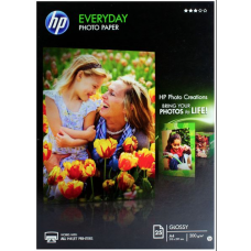 HP Everyday Glossy Photo Paper - 25 Units - A4
