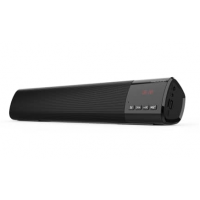 Speaker SoundBar Bluetooth / FM / TF / USB / AUX / Speaker Phone - Output 2x5W RMS