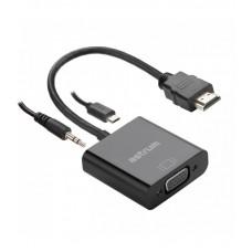 HDMI Male to VGA Female converter with Audio - Astrum DA450