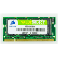 Memory 512MB Laptop DDR 400Mhz - Corsair