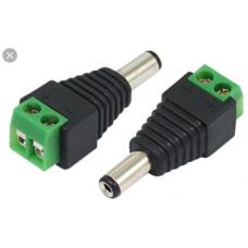 DC Power Plug Male - CCTV - each