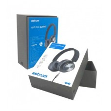 Premium Stereo On-ear Headphones With Mic Grey