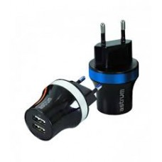 Home Charger Dual USB + Micro USB Cable